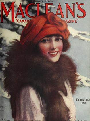 Cover for the February 1 1924 issue