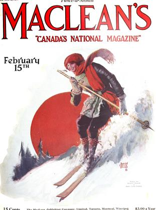 Cover for the February 15 1924 issue