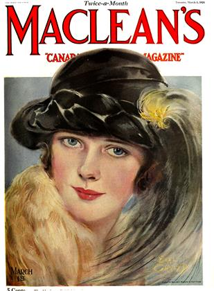 Cover for the March 1 1924 issue