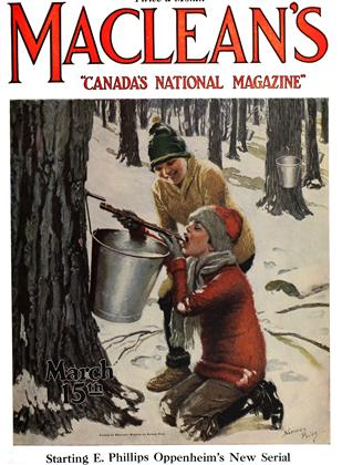 Cover for the March 15 1924 issue
