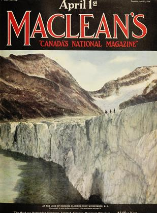 Cover for the April 1 1924 issue