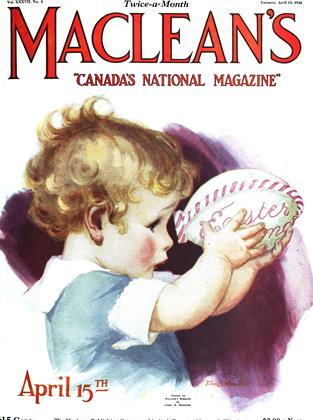 Cover for the April 15 1924 issue