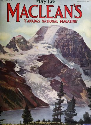 Cover for the May 15 1924 issue