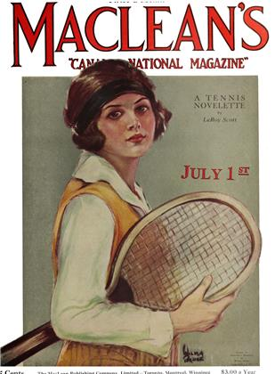 Cover for the July 1 1924 issue