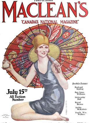 Cover for the July 15 1924 issue