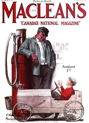 Cover for the August 1 1924 issue