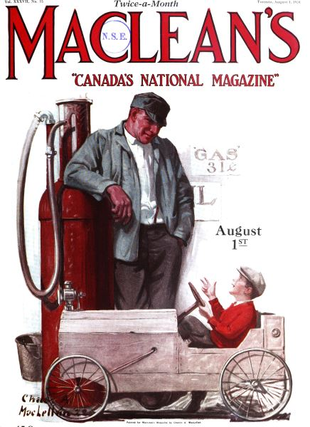 Issue: - August 1924 | Maclean's