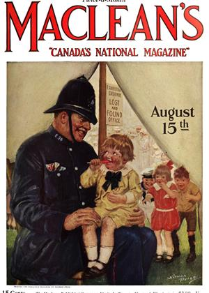 Cover for the August 15 1924 issue