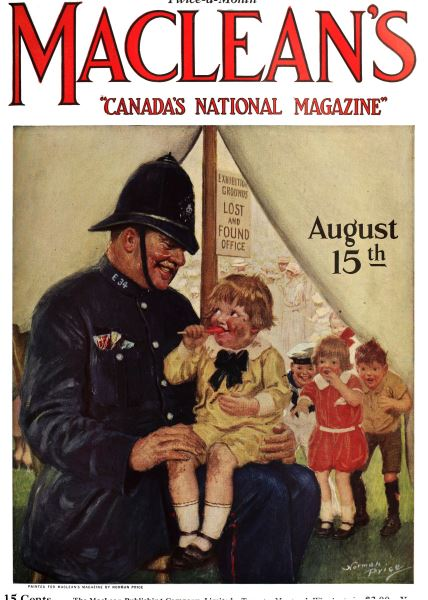 Issue: - August 15th 1924 | Maclean's