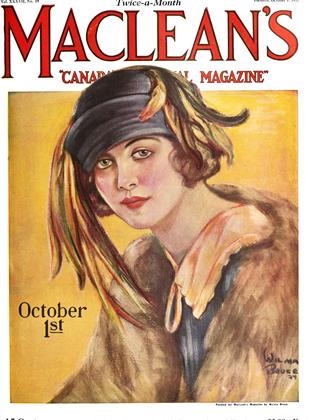 Cover for the October 1 1924 issue