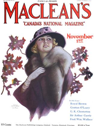 Cover for the November 1 1924 issue