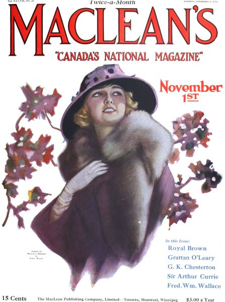 Issue: - November 1924 | Maclean's