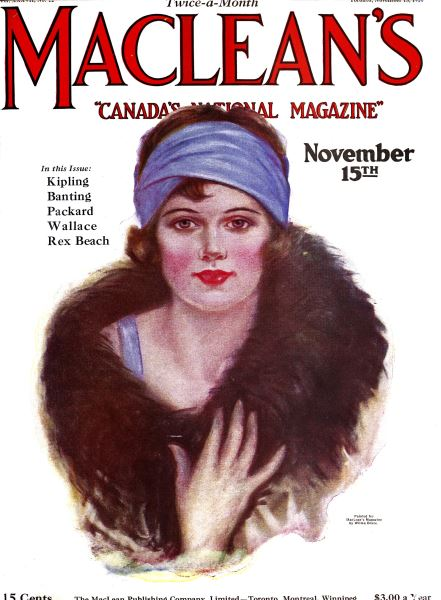 Issue: - November 1924 | Maclean's