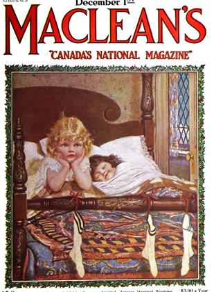 Cover for the December 1 1924 issue