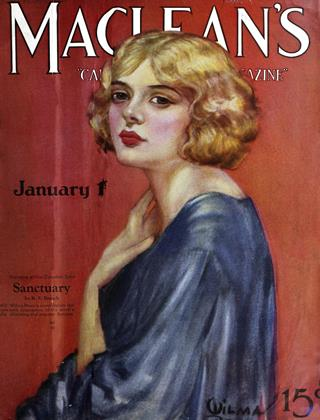 Cover for the January 1 1925 issue
