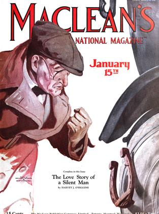 Cover for the January 15 1925 issue