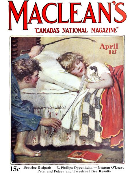 Issue: - April 1925 | Maclean's