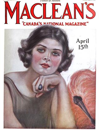 Cover for the April 15 1925 issue