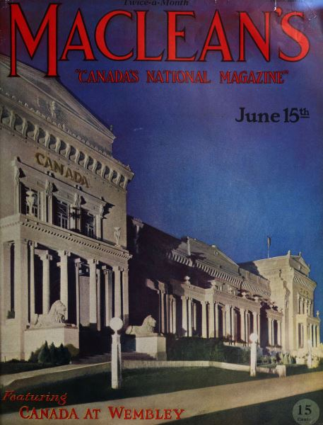 Issue: - June 1925 | Maclean's