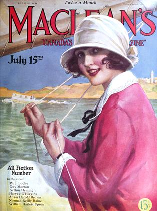 Cover for the July 15 1925 issue