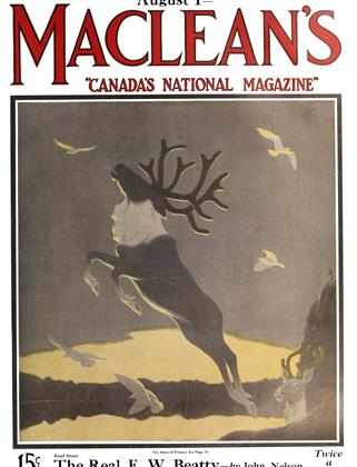 Cover for the August 1 1925 issue