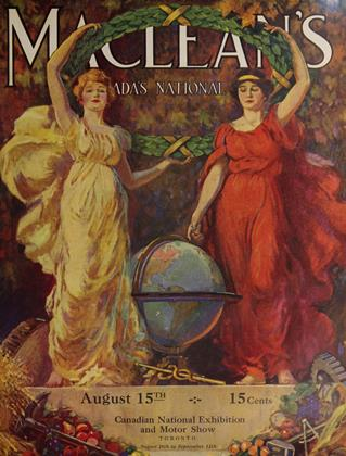 Cover for the August 15 1925 issue