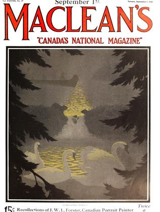 Cover for the September 1 1925 issue