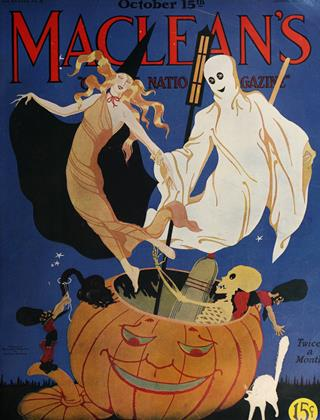 Cover for the October 15 1925 issue