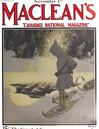 Cover for the November 1 1925 issue