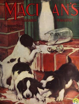Cover for the November 15 1925 issue