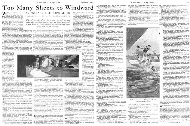 Too Many Sheets to Windward
