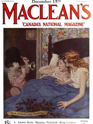 Cover for the December 15 1925 issue