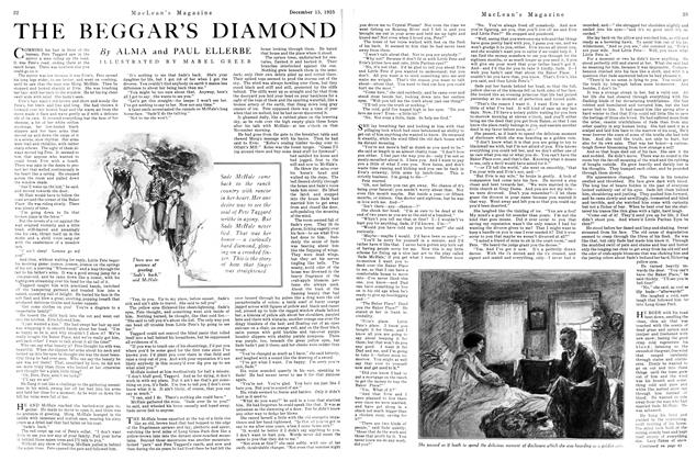 THE BEGGAR'S DIAMOND