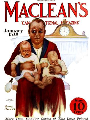Cover for the January 15 1926 issue