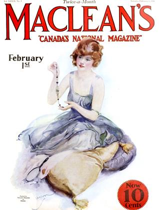 Cover for the February 1 1926 issue