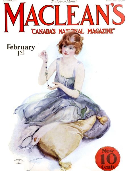 Issue: - February 1926 | Maclean's