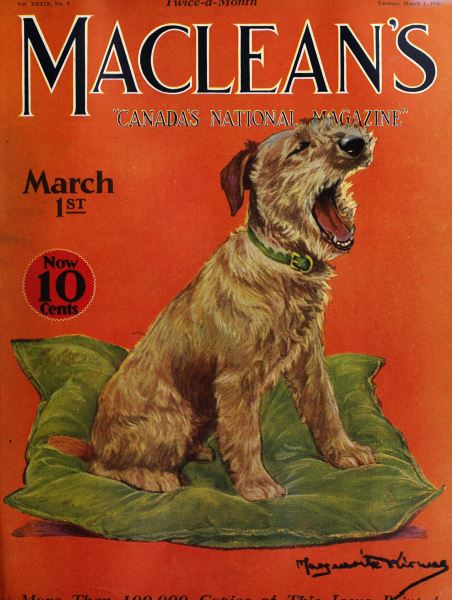 Issue: - March 1926 | Maclean's