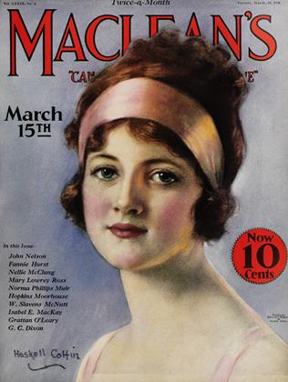 Cover for the March 15 1926 issue