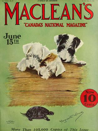 Cover for the June 15 1926 issue