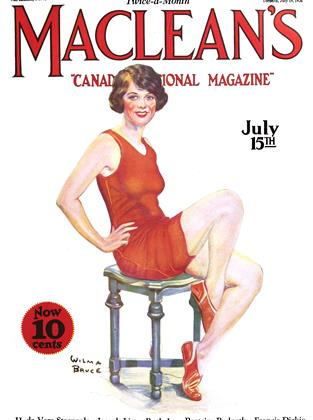 Cover for the July 15 1926 issue