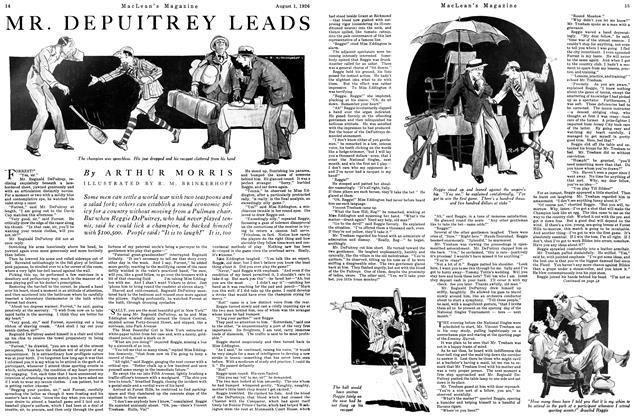 MR. DEPUITREY LEADS