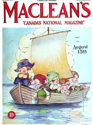 Cover for the August 15 1926 issue
