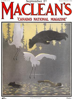 Cover for the September 1 1926 issue