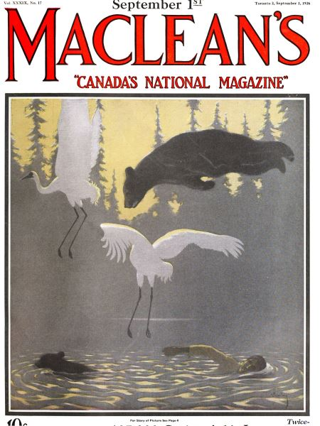 Issue: - September 1st 1926 | Maclean's