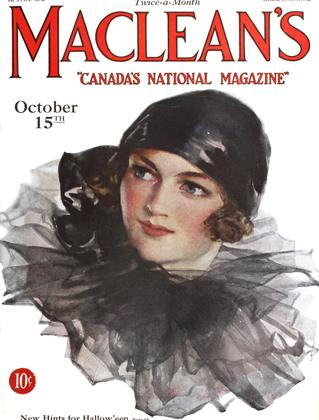 Cover for the October 15 1926 issue