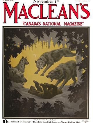 Cover for the November 1 1926 issue