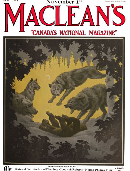 Issue: - November 1ST 1926 | Maclean's