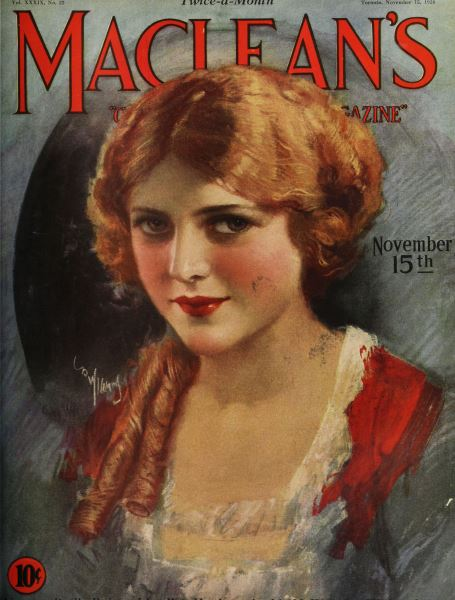 Issue: - Toronto, November 15, 1926 | Maclean's