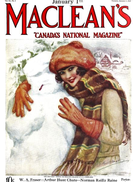Issue: - January 1 ST 1927 | Maclean's