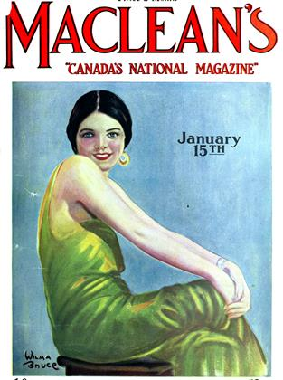 Cover for the January 15 1927 issue